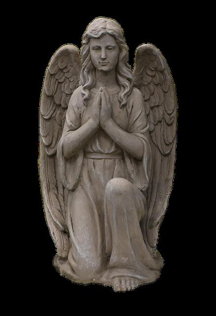 Angel Statue Stickers messages sticker-2