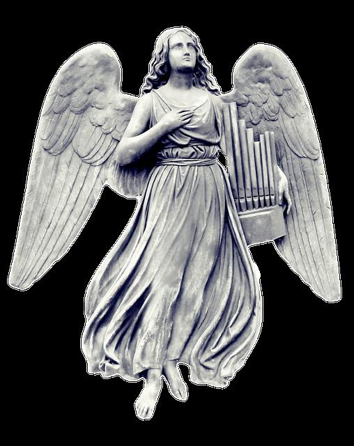 Angel Statue Stickers messages sticker-1