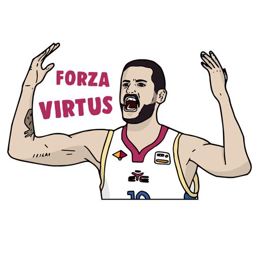 Virtus Roma Official App messages sticker-11