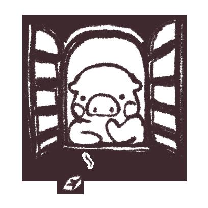 ゆるいブタの日常〈秋〉 messages sticker-6