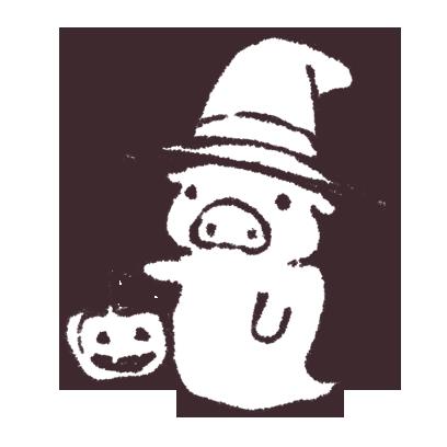 ゆるいブタの日常〈秋〉 messages sticker-11