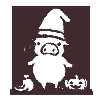 ゆるいブタの日常〈秋〉 messages sticker-10