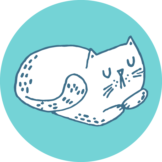Hungry Sleepy Cats messages sticker-8