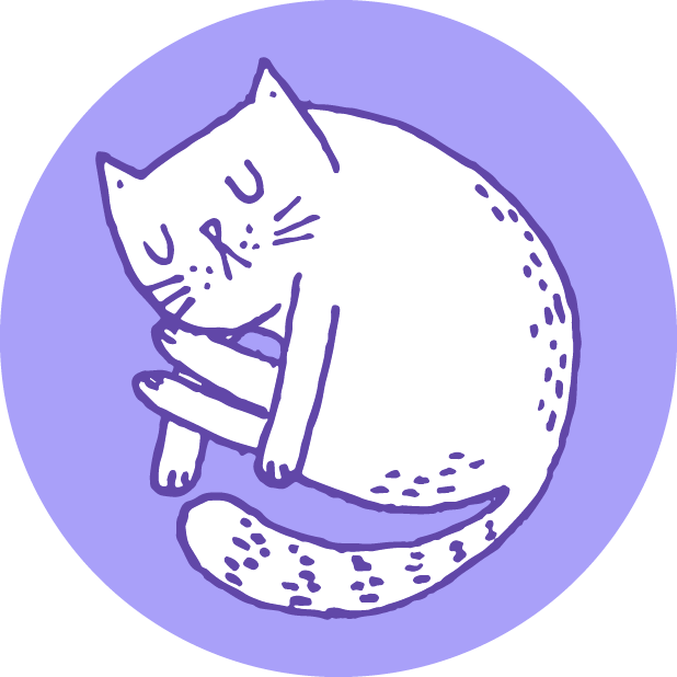 Hungry Sleepy Cats messages sticker-10