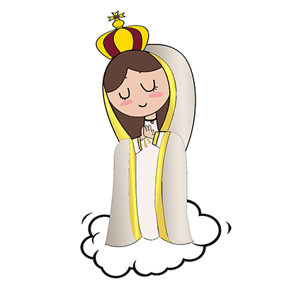 Virgin Mary Stickers messages sticker-1