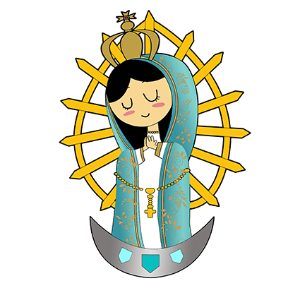 Virgin Mary Stickers messages sticker-2