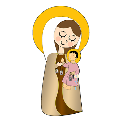 Virgin Mary Stickers messages sticker-7