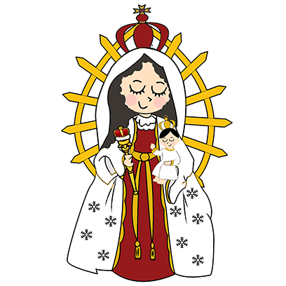 Virgin Mary Stickers messages sticker-10