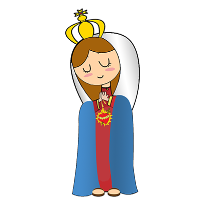 Virgin Mary Stickers messages sticker-4