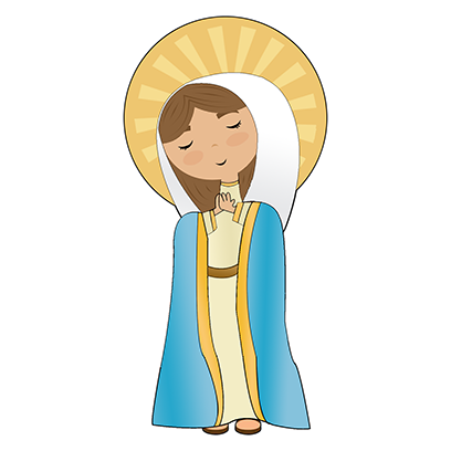 Virgin Mary Stickers messages sticker-11