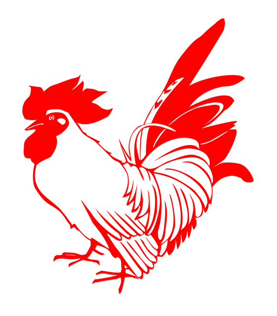 Raucous Rooster Stickers messages sticker-6