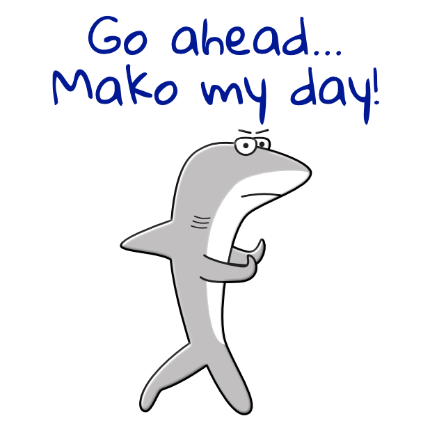 Shark Puns Animated Stickers messages sticker-7