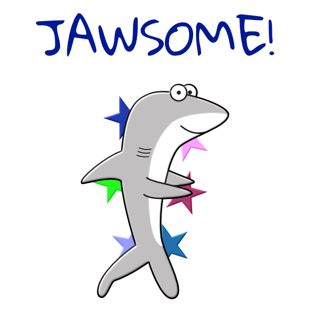 Shark Puns Animated Stickers messages sticker-2