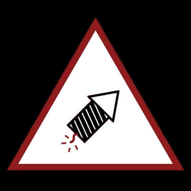 Baddays Warning Signs messages sticker-0