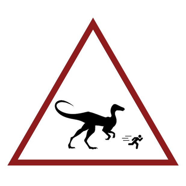 Baddays Warning Signs messages sticker-5