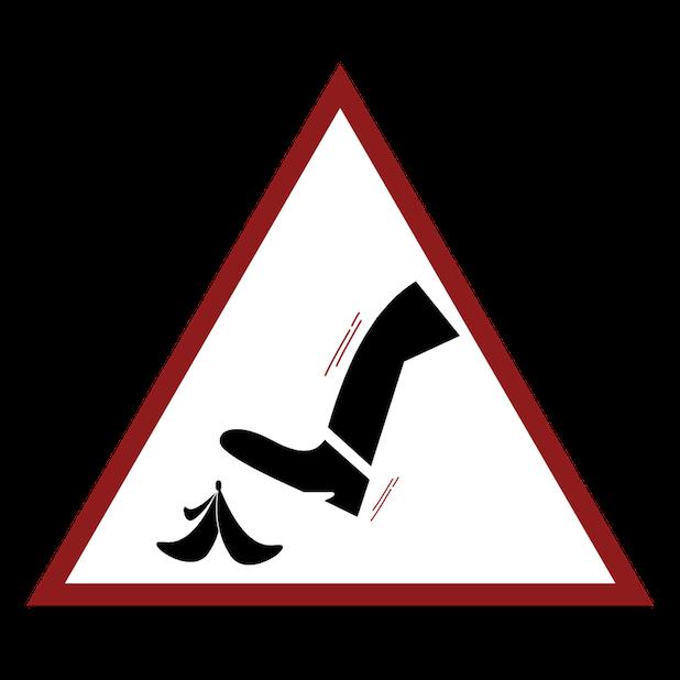 Baddays Warning Signs messages sticker-9