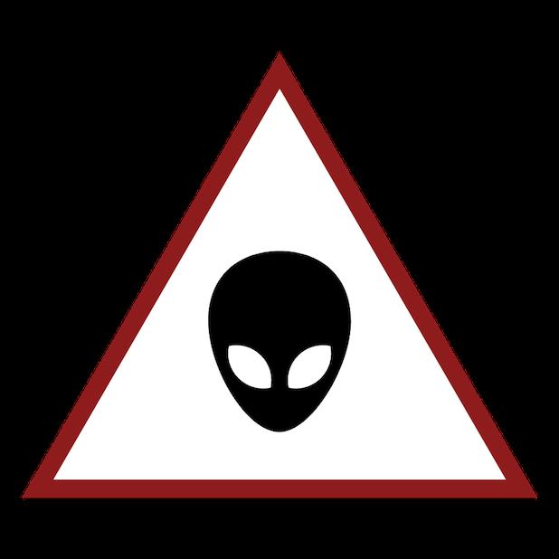 Baddays Warning Signs messages sticker-8