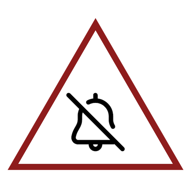Baddays Warning Signs messages sticker-2