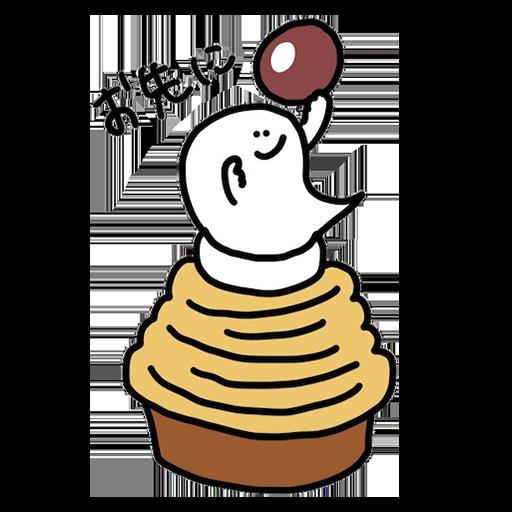obake chan2 messages sticker-5