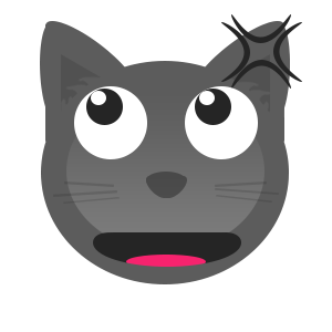 Gray Cat messages sticker-7