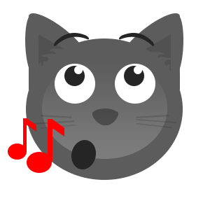 Gray Cat messages sticker-10