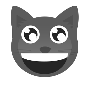 Gray Cat messages sticker-6