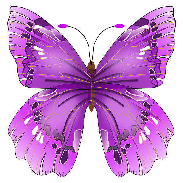 Butterflies - Farfalle messages sticker-9