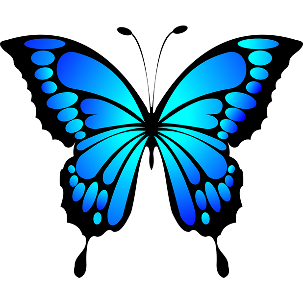 Butterflies - Farfalle messages sticker-2