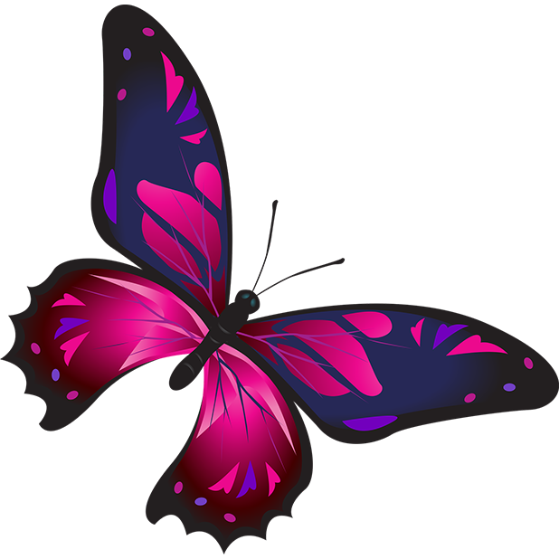 Butterflies - Farfalle messages sticker-1