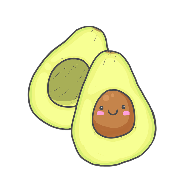 Avocado Stickers messages sticker-4