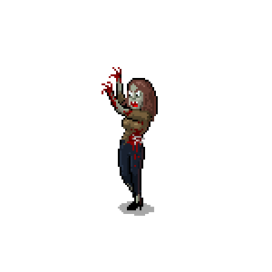 Zombie Train Survival Fight messages sticker-2