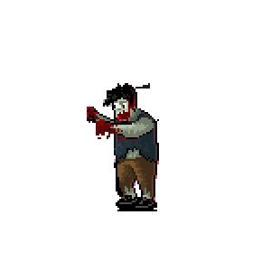 Zombie Train Survival Fight messages sticker-1