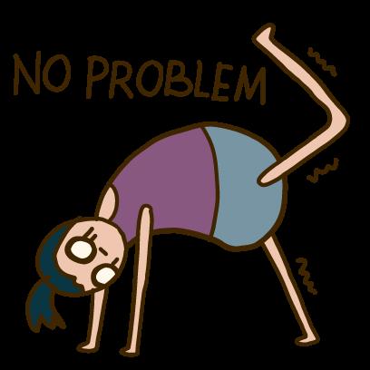 Yoga Yogi Moji messages sticker-0