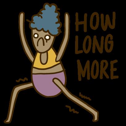 Yoga Yogi Moji messages sticker-7