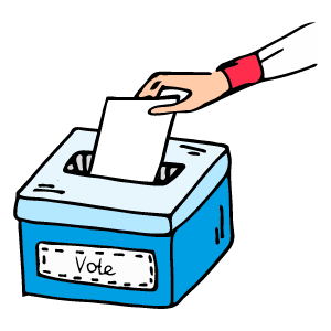 Vote for Chad Now messages sticker-3