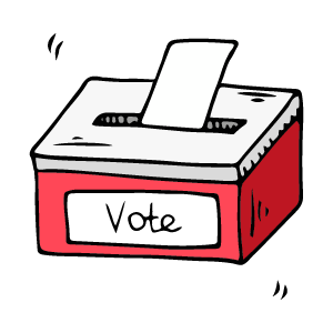 Vote for Chad Now messages sticker-7
