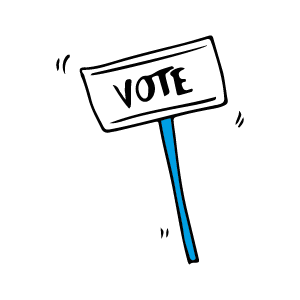 Vote for Chad Now messages sticker-9