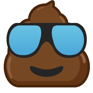 Famous Poo messages sticker-7