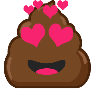 Famous Poo messages sticker-4
