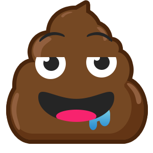 Famous Poo messages sticker-10