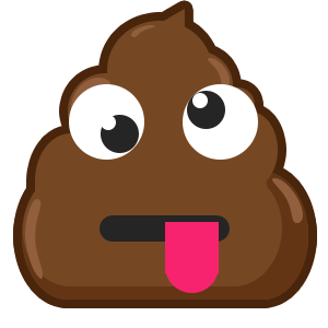 Famous Poo messages sticker-8