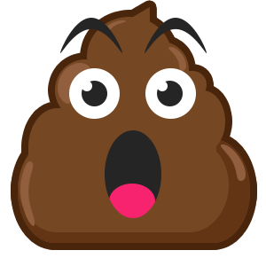 Famous Poo messages sticker-2