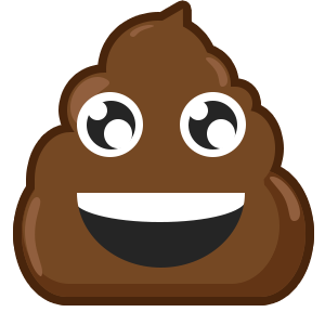Famous Poo messages sticker-6