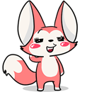 Foxie - Cao Lua Sticker messages sticker-9