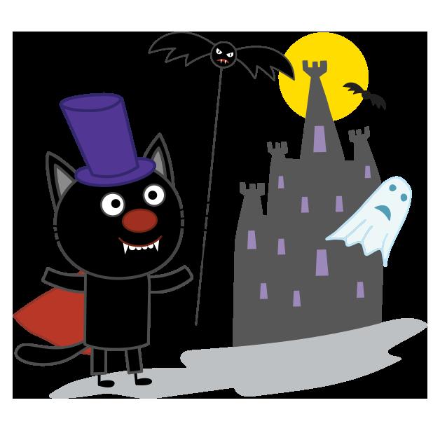 Kid-E-Cats: Halloween messages sticker-10