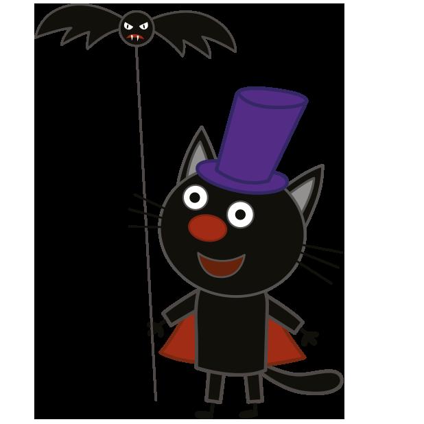 Kid-E-Cats: Halloween messages sticker-9