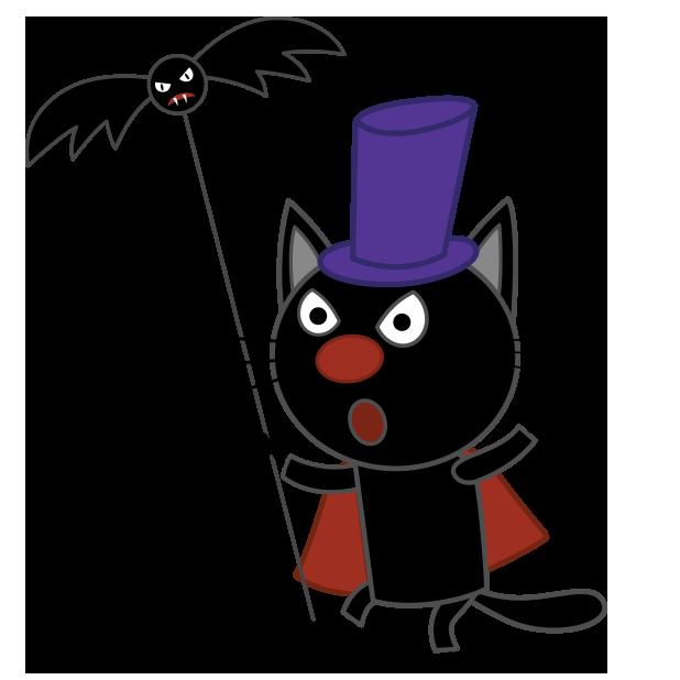 Kid-E-Cats: Halloween messages sticker-5