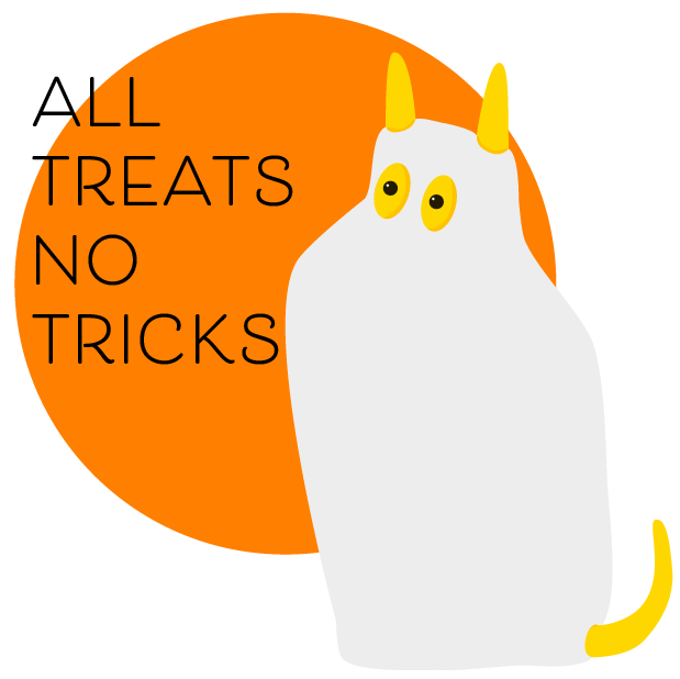 NapkinDog! Halloween messages sticker-1