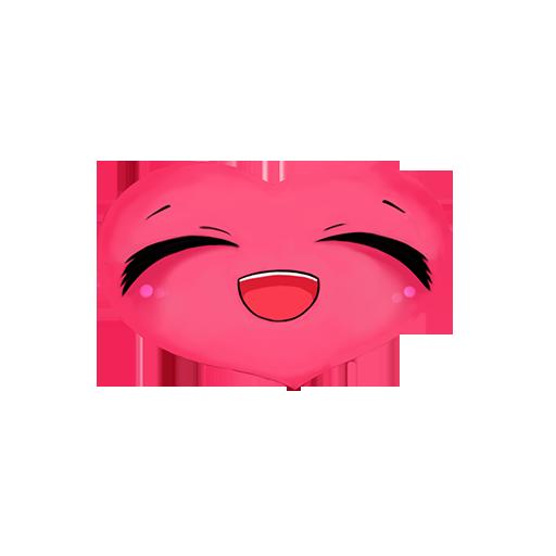 Loveji Hearts - a drop of love messages sticker-6