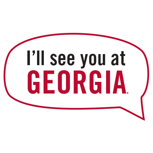 UGA Admitted Student Stickers messages sticker-6